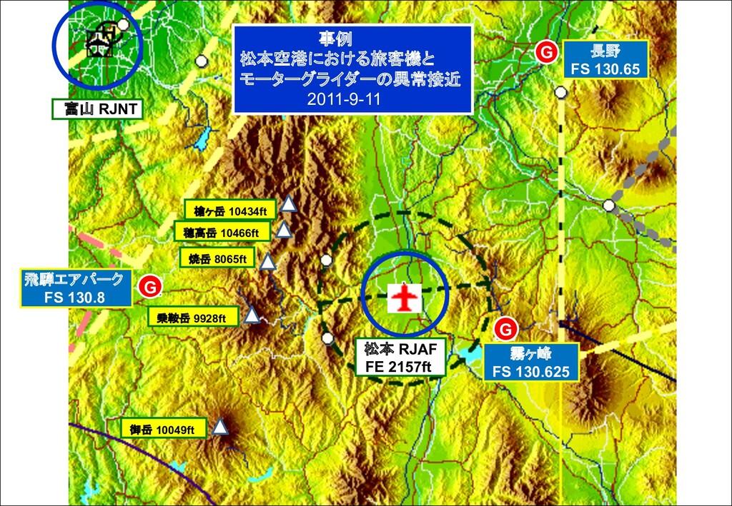 長野 FS 130.65 霧ヶ峰 FS 130.625 飛騨エアパーク FS 130.8 G ...