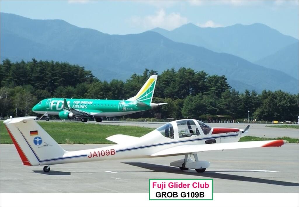 Fuji Glider Club GROB G109B