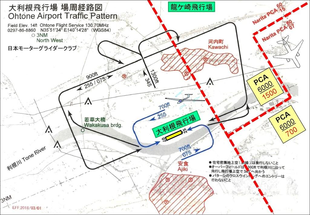 龍ケ崎飛行場 PCA 6000 700 PCA 6000 1500 大利根飛行場 日本モーター...