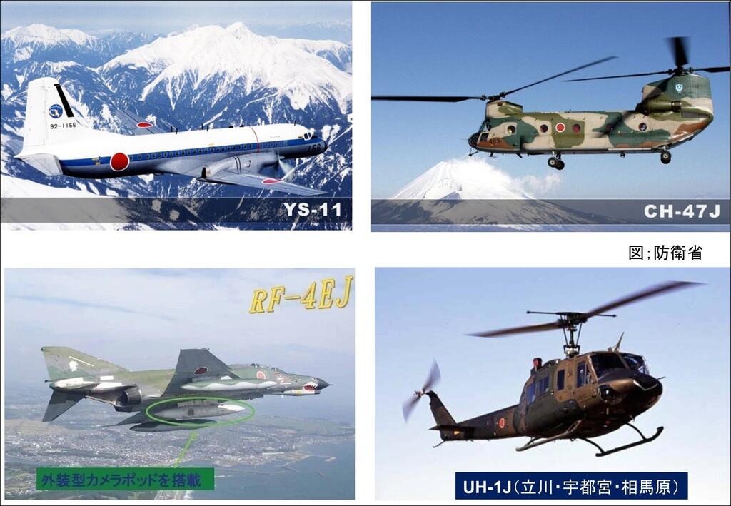 UH-1J(立川・宇都宮・相馬原) 図;防衛省
