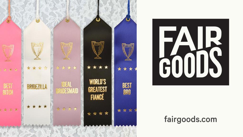 fairgoods.com