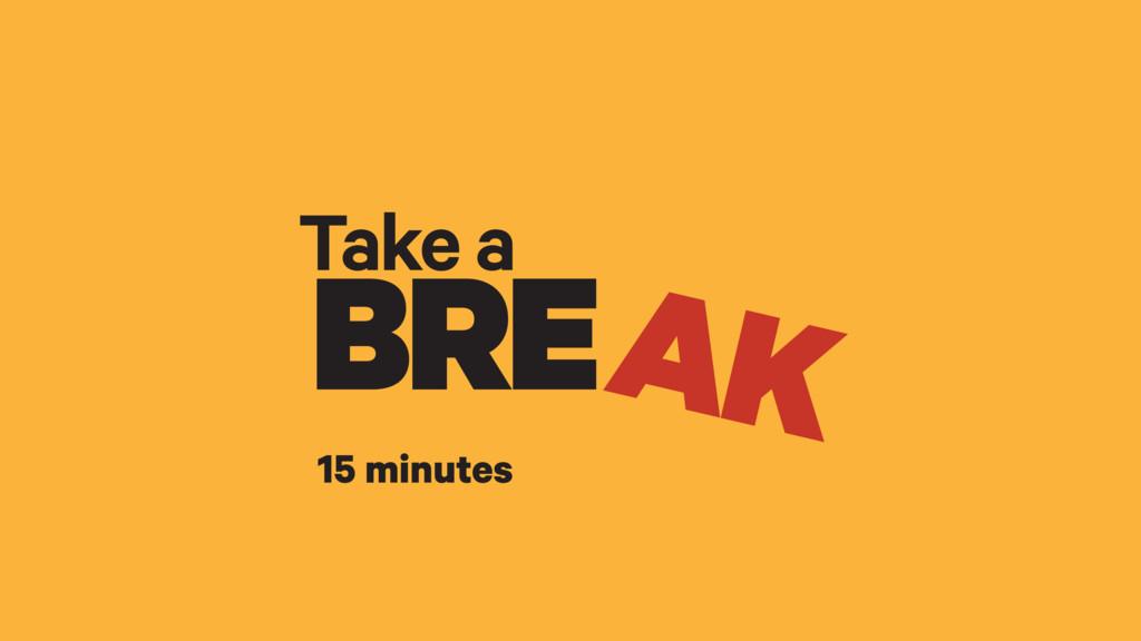 Take a BRE AK 15 minutes