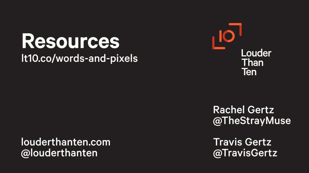 louderthanten.com @louderthanten Rachel Gertz ...