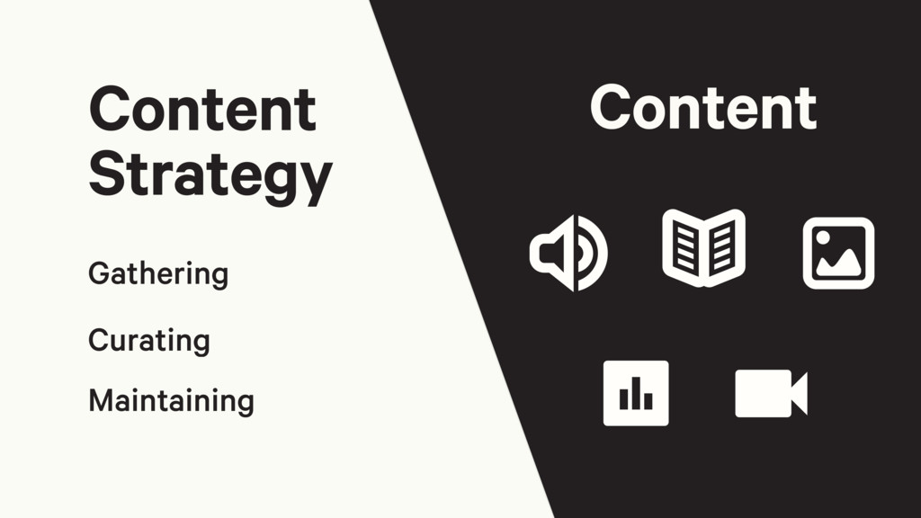 Gathering Curating Maintaining Content Strategy...