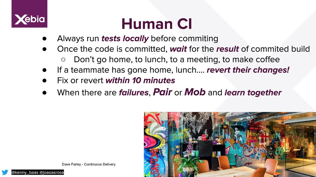 37 ● ● ○ ● ● ● Dave Farley - Continuous Delivery