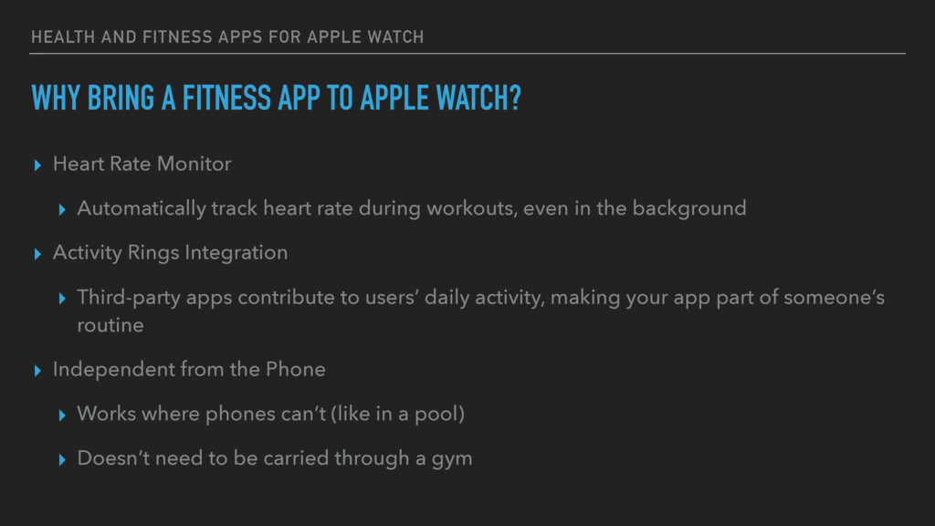 HEALTH AND FITNESS APPS FOR APPLE WATCH WHY BRI...