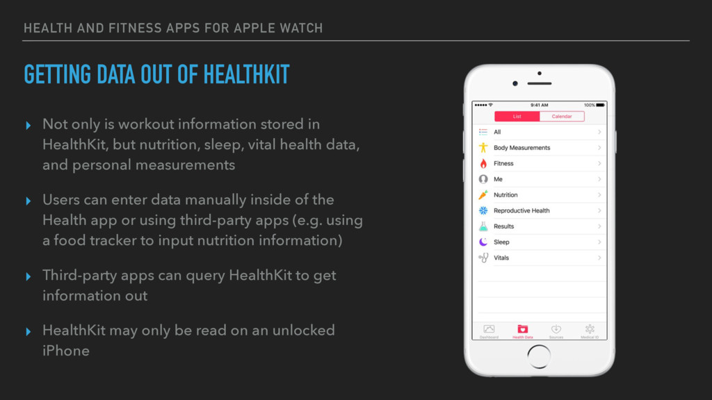HEALTH AND FITNESS APPS FOR APPLE WATCH GETTING...