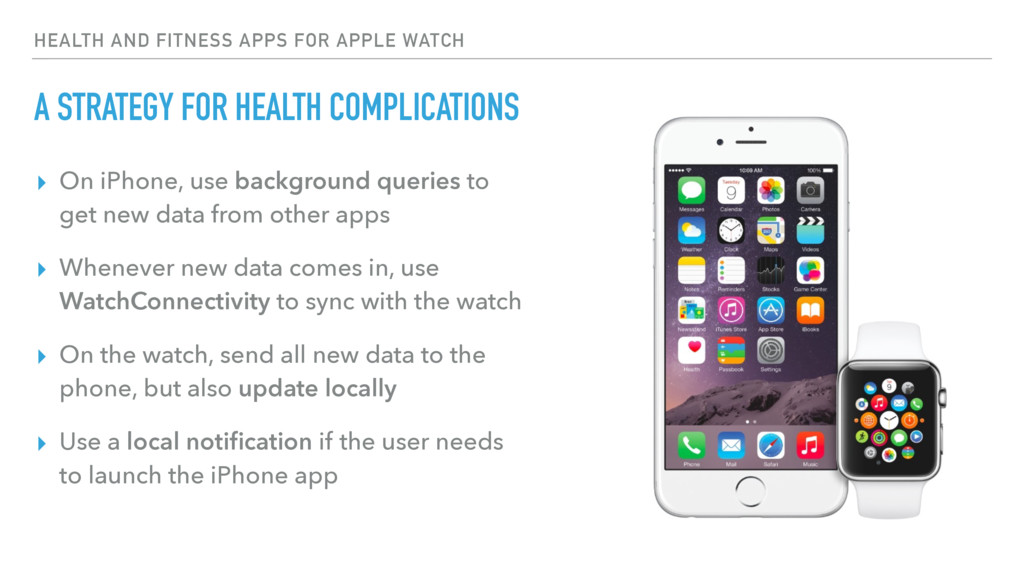 HEALTH AND FITNESS APPS FOR APPLE WATCH A STRAT...