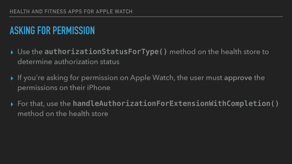 HEALTH AND FITNESS APPS FOR APPLE WATCH ASKING ...