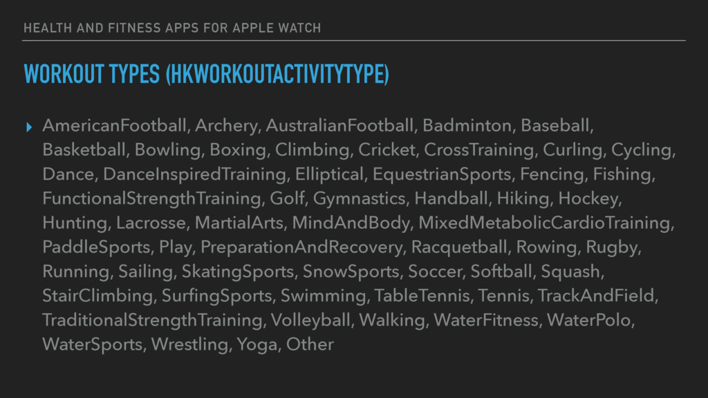 HEALTH AND FITNESS APPS FOR APPLE WATCH WORKOUT...