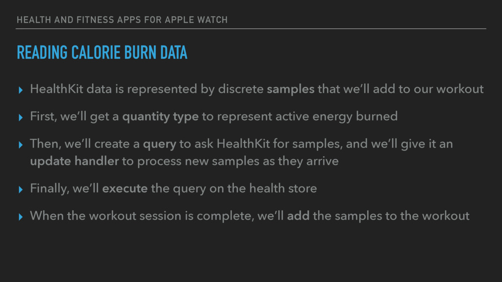 HEALTH AND FITNESS APPS FOR APPLE WATCH READING...