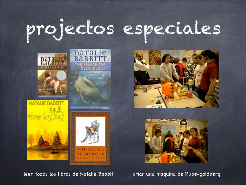 projectos especiales leer todos los libros de N...