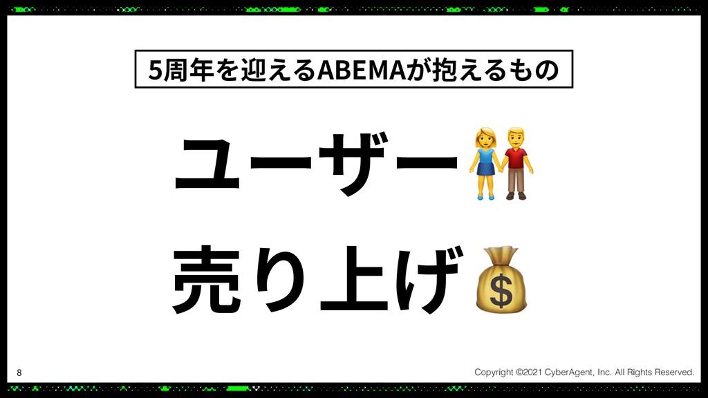 ユーザー👫 売り上げ💰 5周年を迎えるABEMAが抱えるもの