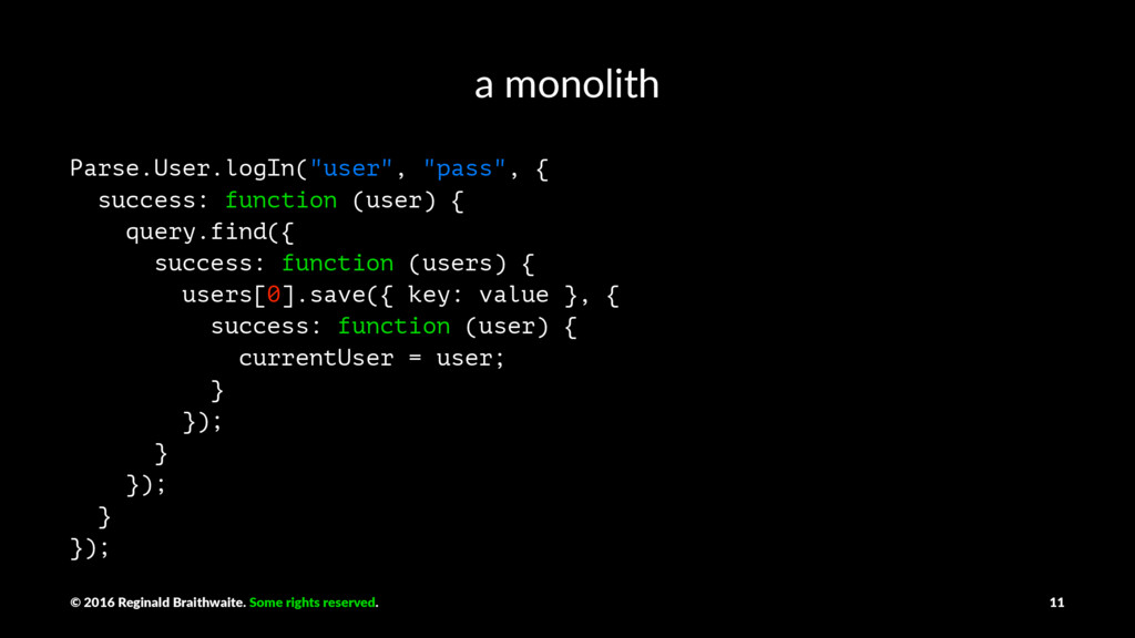 "a monolith Parse.User.logIn(""user"", ""pass"", { s..."