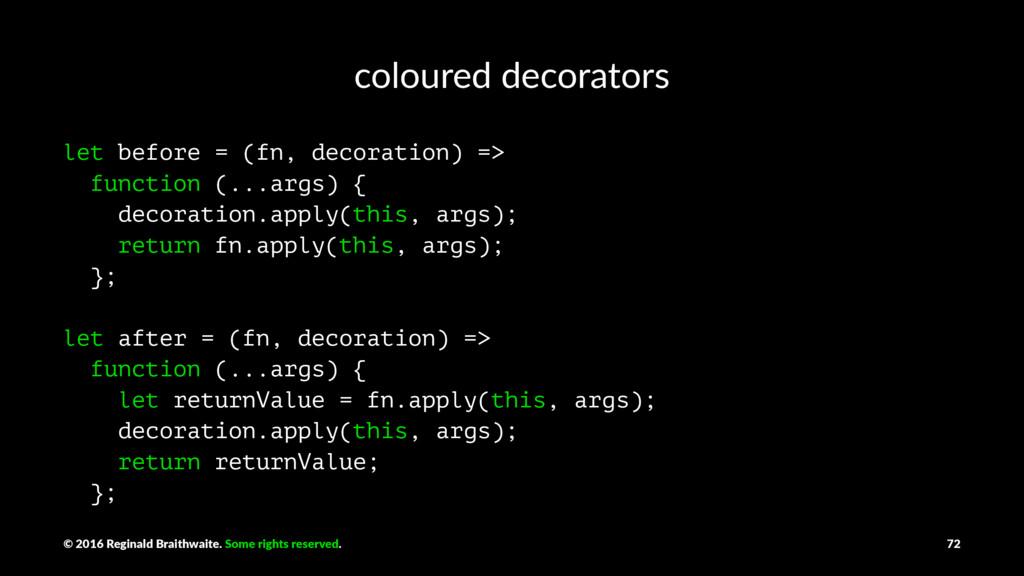 coloured decorators let before = (fn, decoratio...