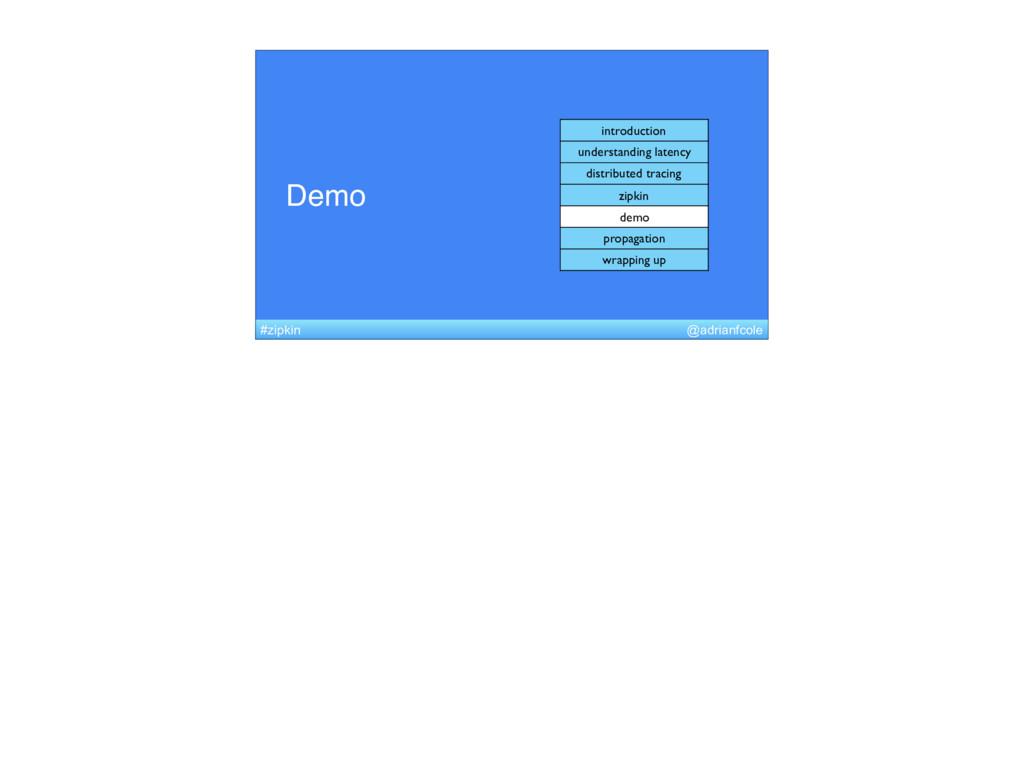 Demo introduction understanding latency distrib...