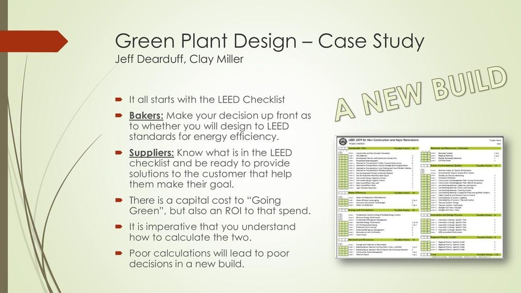 Green Plant Design – Case Study Jeff Dearduff, ...