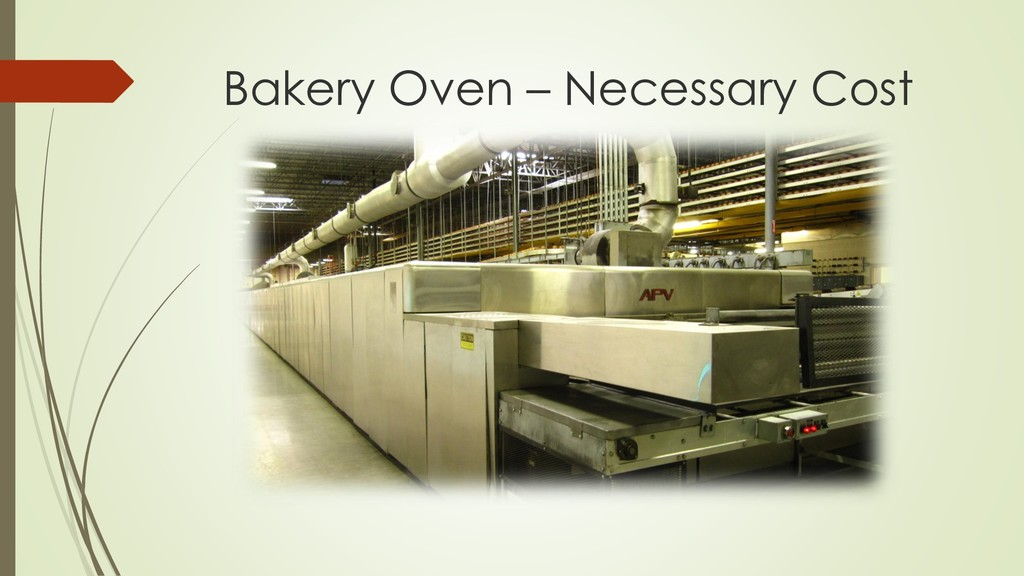 Bakery Oven – Necessary Cost