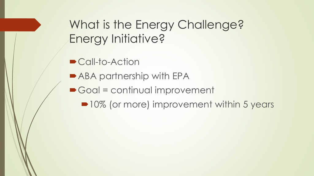 What is the Energy Challenge? Energy Initiative...