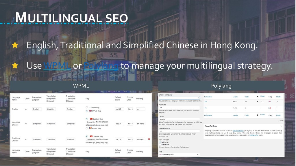 MULTILINGUAL SEO English, Traditional and Simpl...