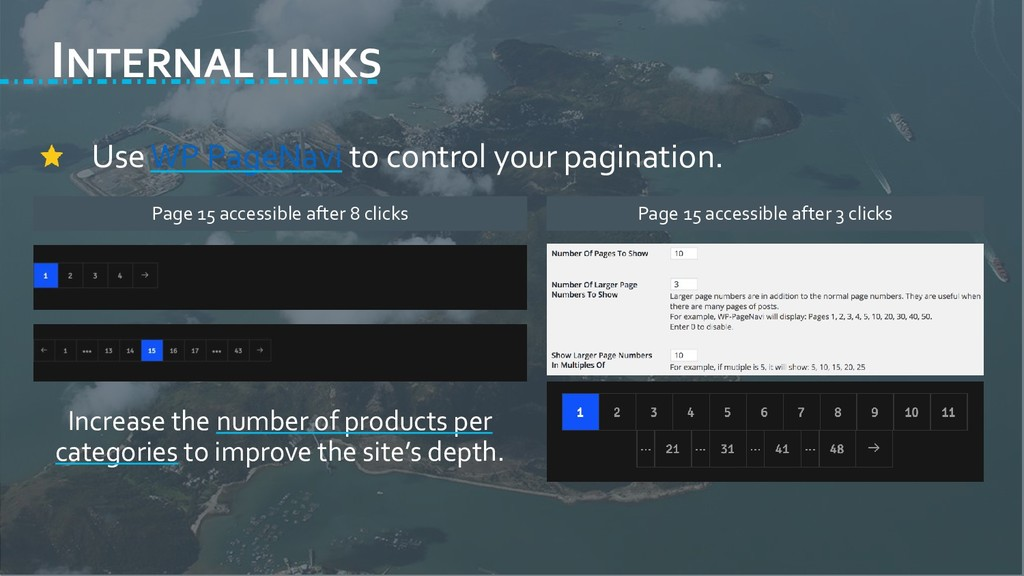 INTERNAL LINKS Use WP PageNavi to control your ...
