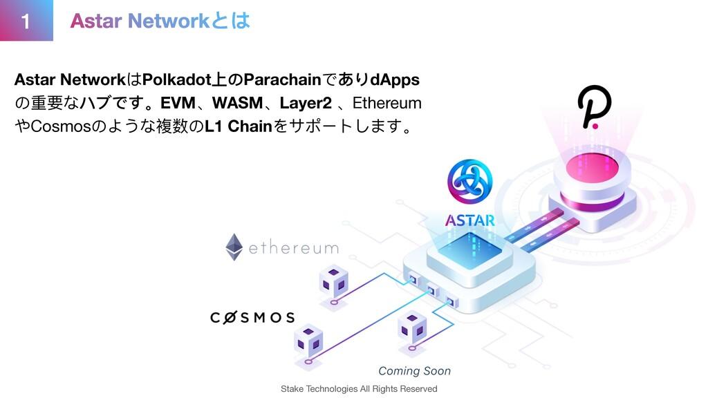 Astar NetworkはPolkadot上のParachainでありdApps の重要な...