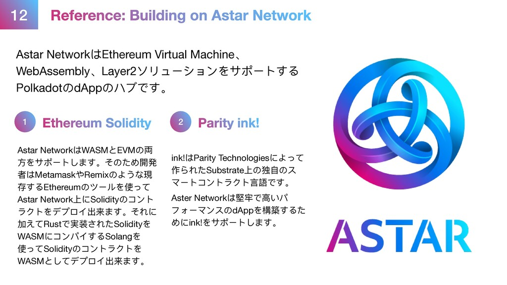 12 Reference: Building on Astar Network Astar N...