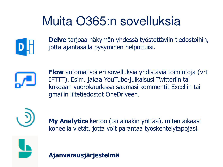 O365 ohjeita • Microsoft Office365 opetuksessa ...
