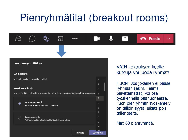 Luokan OneNone-muistikirja Löytyy luokan yleise...
