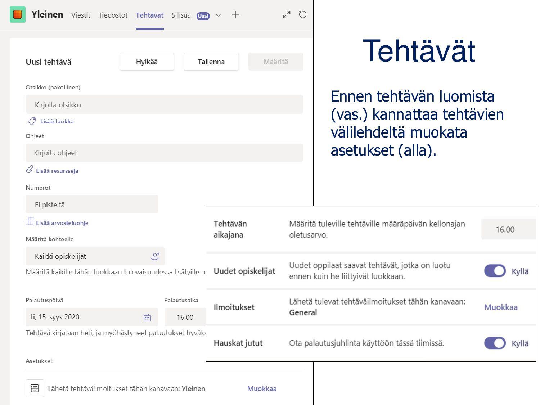 OneDrive Tiedostojen luominen, tallentaminen jä...