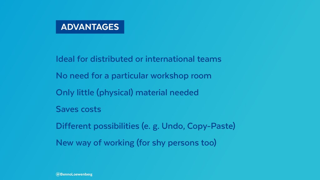 ADVANTAGES Ideal for distributed or internati...