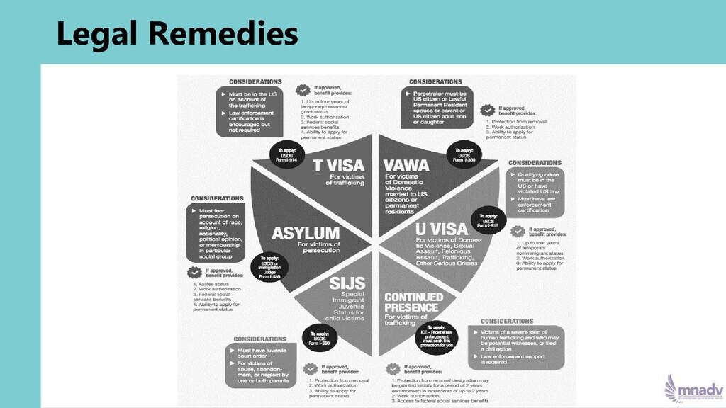 Legal Remedies