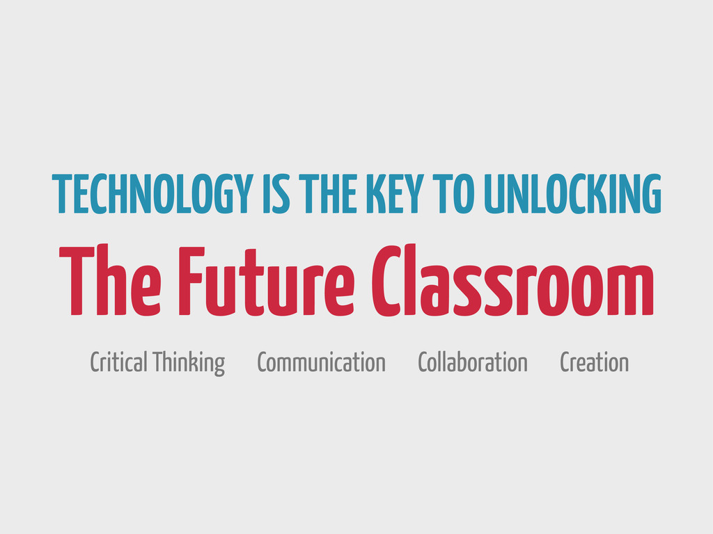 TECHNOLOGY IS THE KEY TO UNLOCKING The Future C...