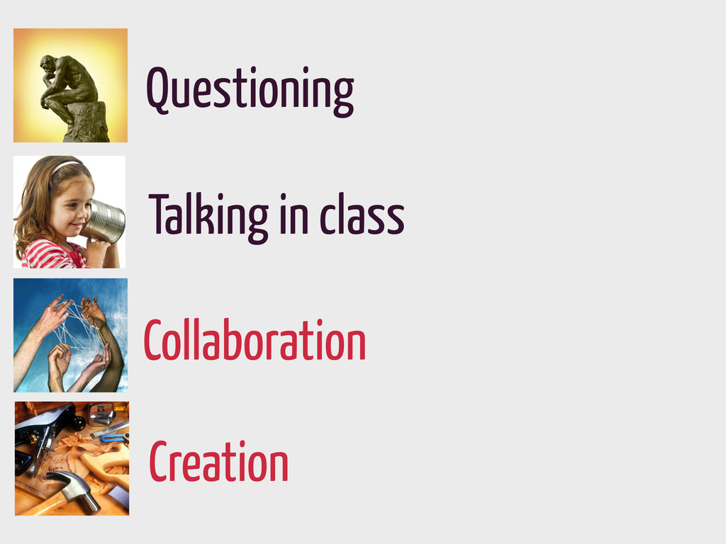 Creation Collaboration Questioning Talking in c...