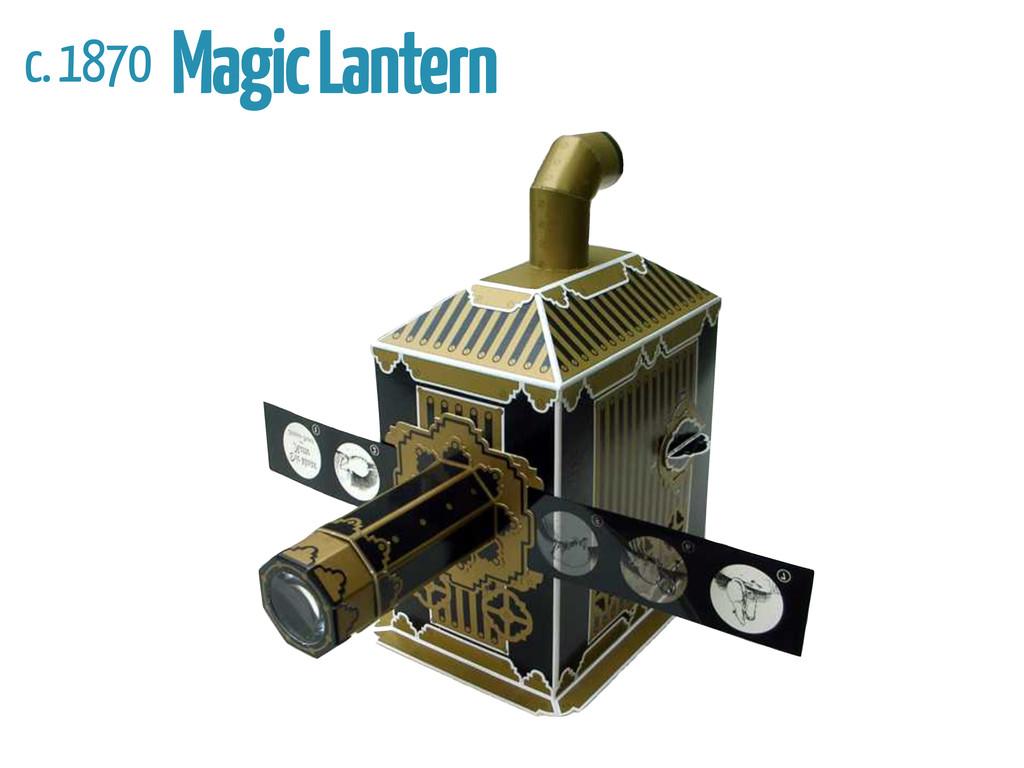 c. 1870 Magic Lantern