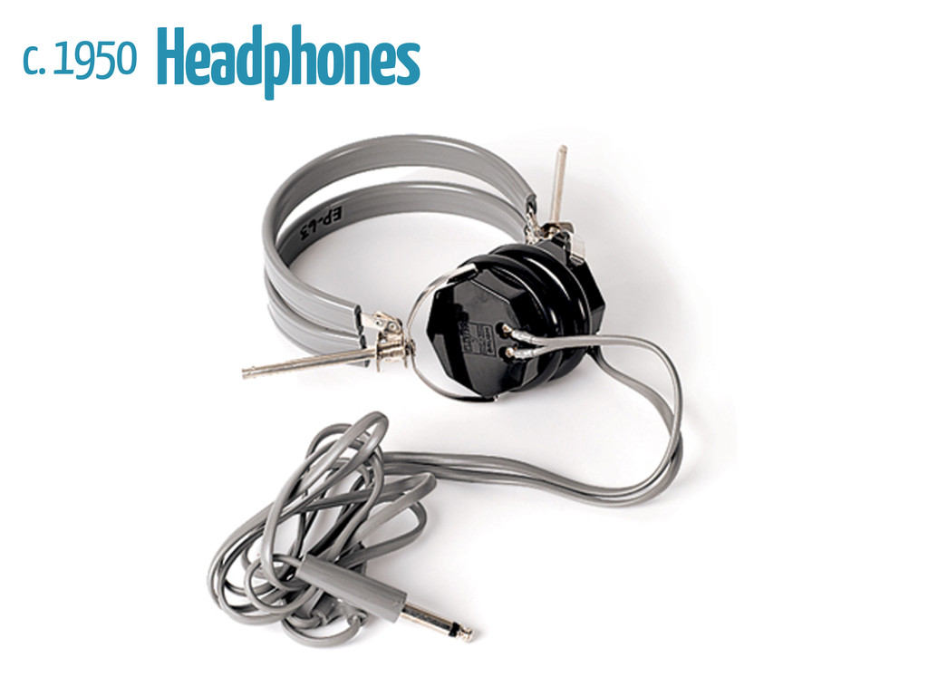 c. 1950 Headphones