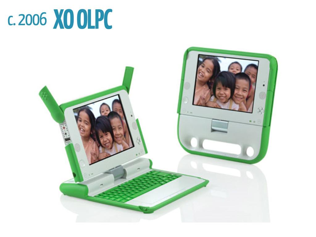 c. 2006 XO OLPC