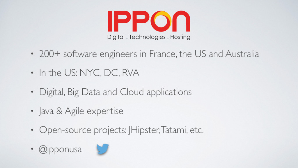 • 200+ software engineers in France, the US and...