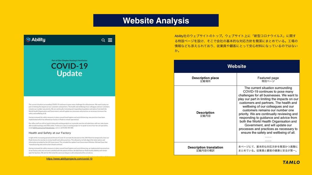 Website Analysis https://www.abilityprojects.co...