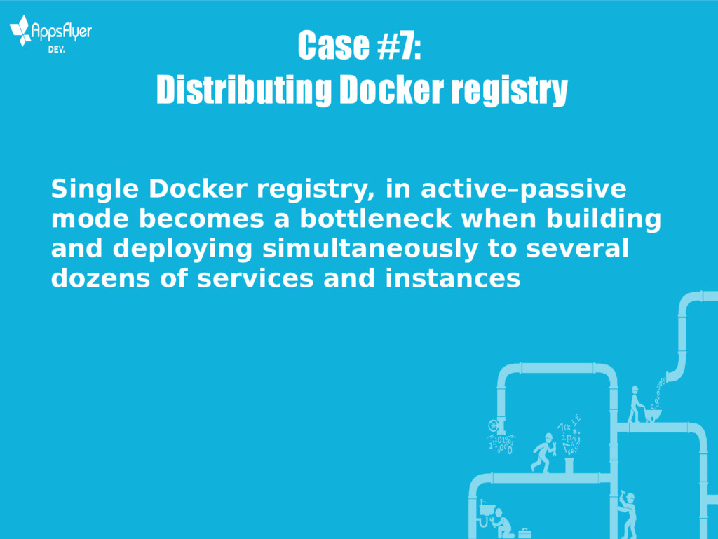 Case #7: Distributing Docker registry Single Do...