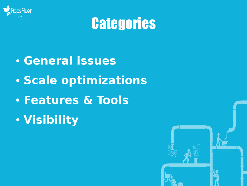 Categories ● General issues ● Scale optimizatio...