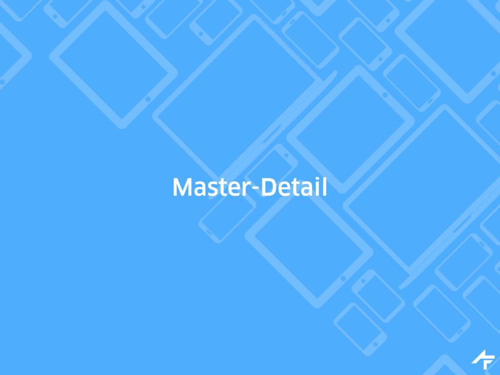 Master-Detail