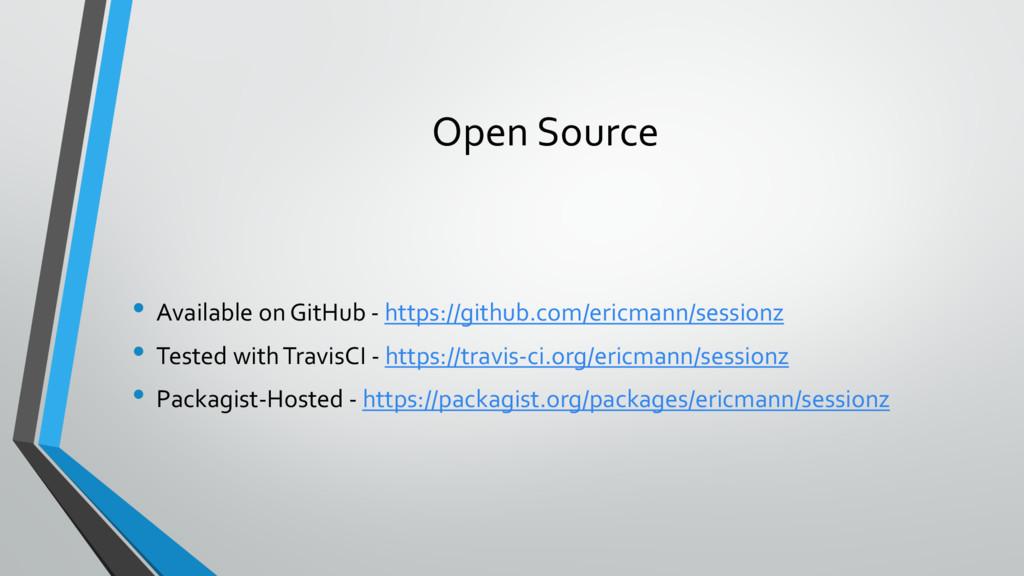 Open Source • Available on GitHub - https://git...