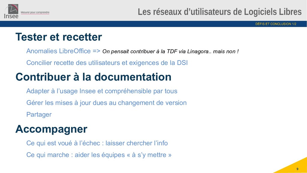 9 Tester et recetter Anomalies LibreOffice => O...