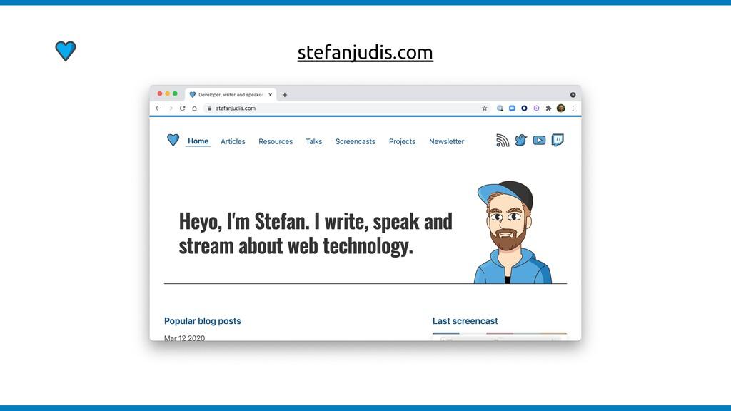 stefanjudis.com