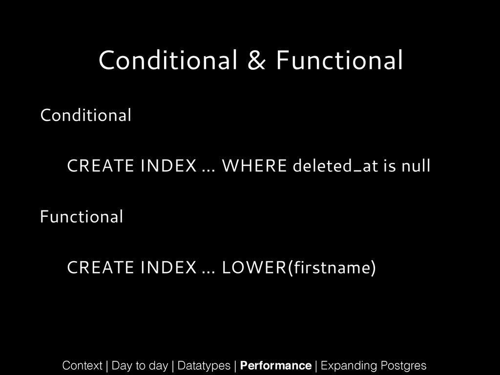 Conditional & Functional Conditional ! CREATE I...