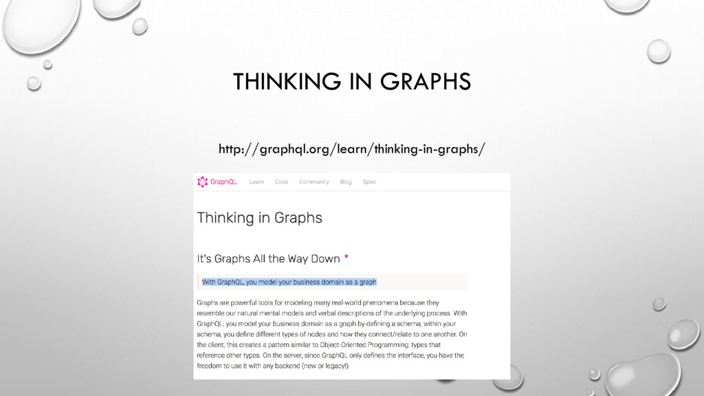 THINKING IN GRAPHS http://graphql.org/learn/thi...