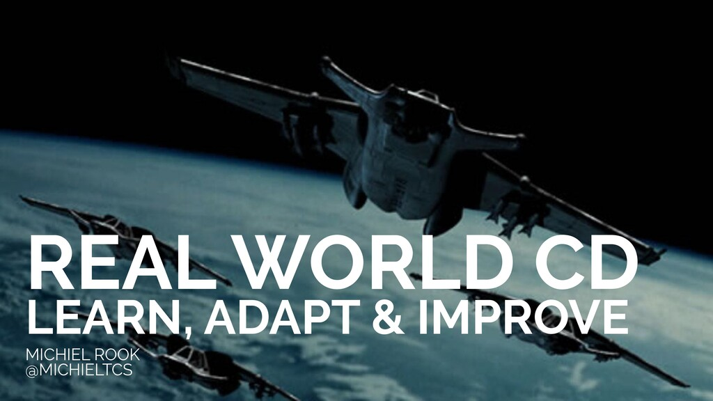 REAL WORLD CD LEARN, ADAPT & IMPROVE MICHIEL RO...