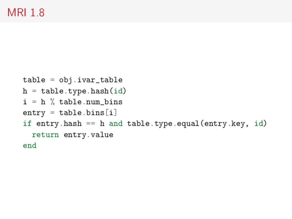 MRI 1.8 table = obj.ivar_table h = table.type.h...