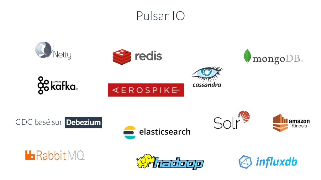 Pulsar IO CDC basé sur